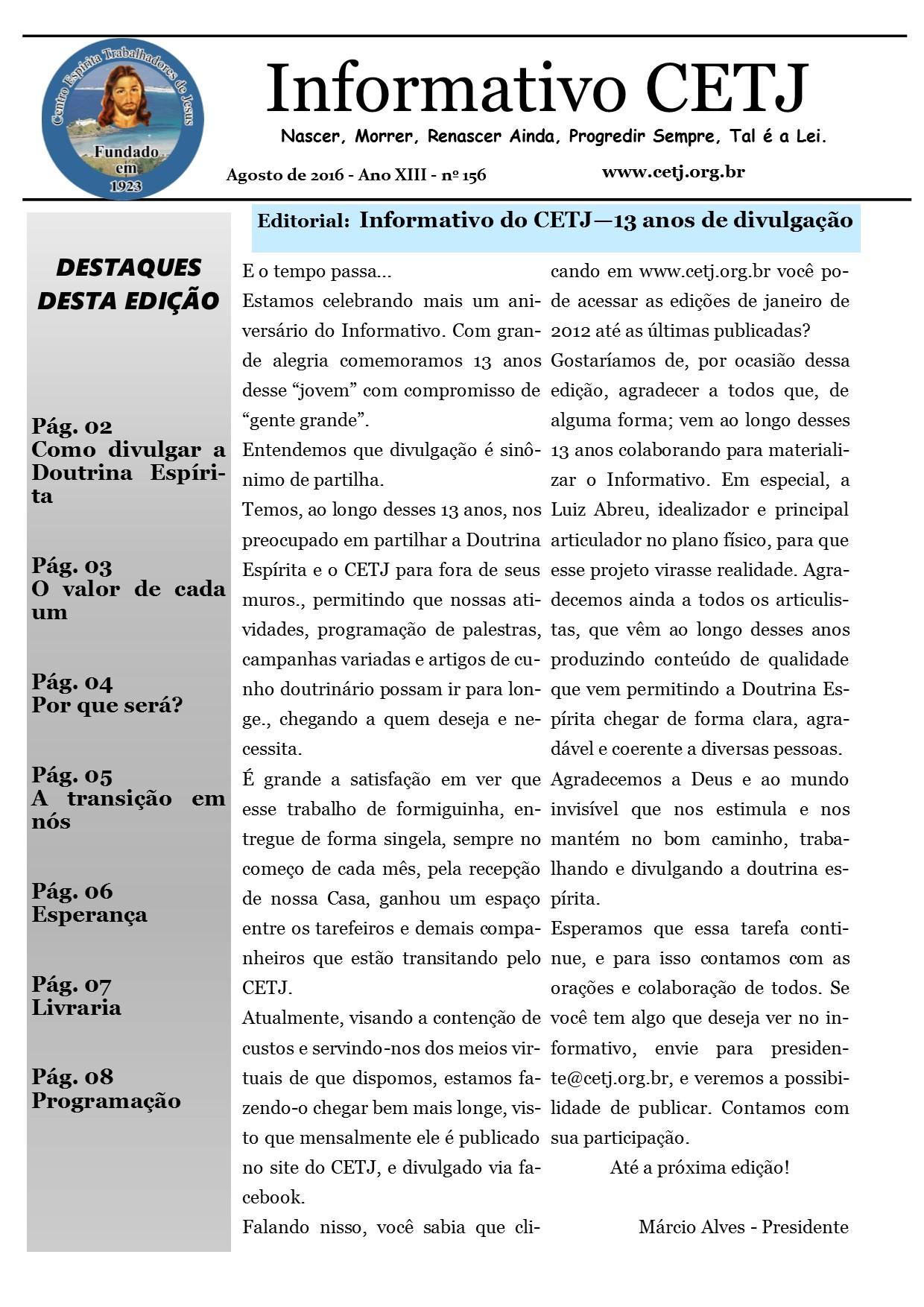 Informativo agosto de 2016_net